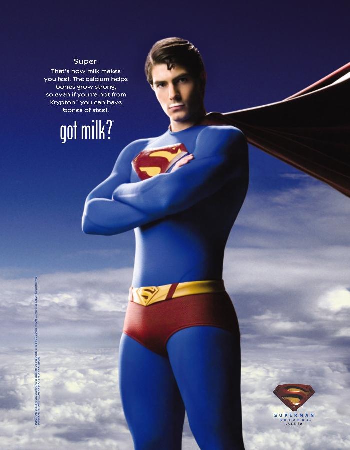 Superman Returns - Got Milk?